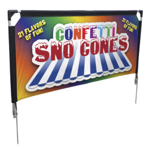 Outdoor Displays - Northern Lights Display   Banners, Flags