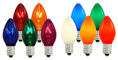 led c7 c9 replacement bulbs