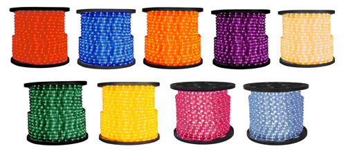 Commercial led rope lighting northern lights display banners led rope coils aloadofball Images